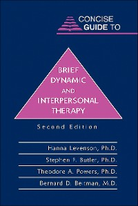 Cover Concise Guide to Brief Dynamic and Interpersonal Therapy