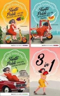 Cover Tante Poldi Sammelband: Die sizilianischen Löwen - Die Früchte des Herrn - Der schöne Antonio