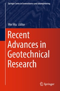 Cover Recent Advances in Geotechnical Research