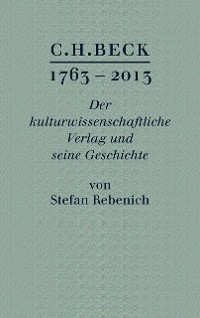 Cover C.H. BECK 1763 - 2013