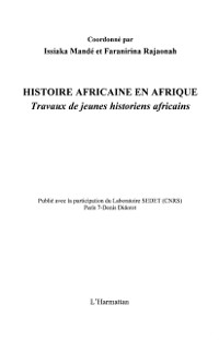 Cover Histoire africaine en afrique - travaux de jeunes historiens