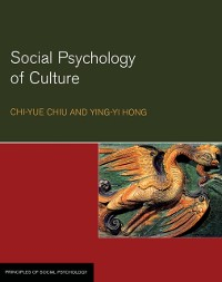 Cover Social Psychology of Culture