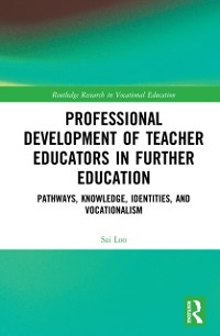 Cover Professional Development of Teacher Educators in Further Education