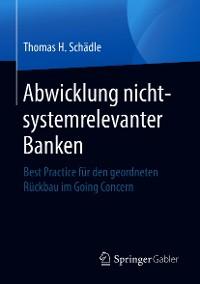 Cover Abwicklung nicht-systemrelevanter Banken