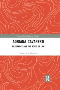 Cover Adriana Cavarero