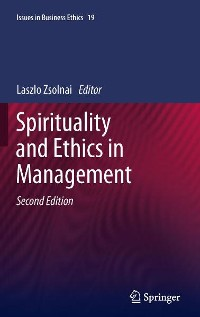 Cover Spirituality and Ethics in Management