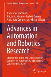 Cover Advances in Automation and Robotics Research