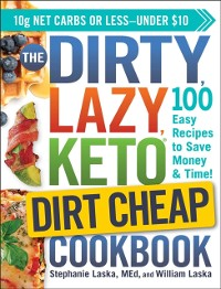 Cover DIRTY, LAZY, KETO Dirt Cheap Cookbook