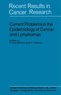 Cover Current Problems in the Epidemiology of Cancer and Lymphomas