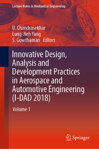 Cover Innovative Design, Analysis and Development Practices in Aerospace and Automotive Engineering (I-DAD 2018)