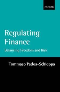 Cover Regulating Finance