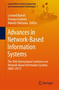 Cover Advances in Network-Based Information Systems