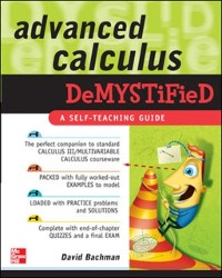 Cover Advanced Calculus Demystified