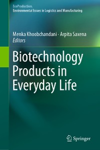 Cover Biotechnology Products in Everyday Life