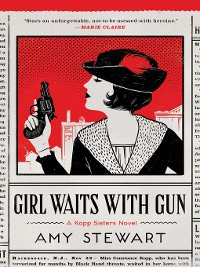 Cover Girl Waits with Gun