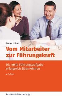 Cover Vom Mitarbeiter zur Führungskraft