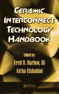 Cover Ceramic Interconnect Technology Handbook