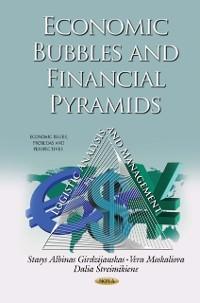Cover Economic Bubbles and Financial Pyramids