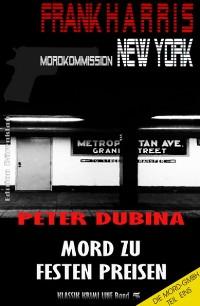 Cover Mord zu festen Preisen (Mordkommission New York, Frank Harris, Band 5)