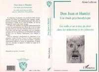 Cover Don Juan et Hamlet, une Etude Psychanalytique