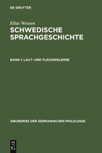 Cover Laut- und Flexionslehre