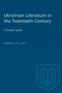 Cover Ukrainian Literature in the Twentieth Century
