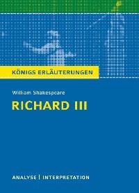 Cover Richard III von William Shakespeare. Königs Erläuterungen.