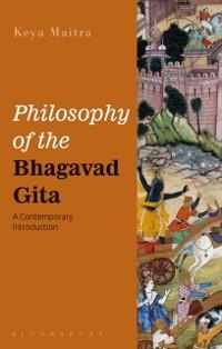 Cover Philosophy of the Bhagavad Gita