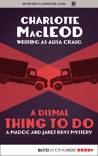 Cover A Dismal Thing to Do