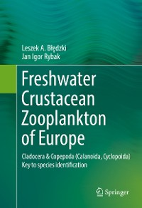 Cover Freshwater Crustacean Zooplankton of Europe