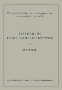 Cover Einfuhrung in die Halbleiterphysik