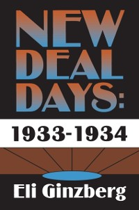 Cover New Deal Days: 1933-1934