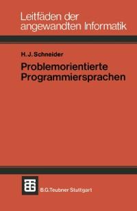 Cover Problemorientierte Programmiersprachen