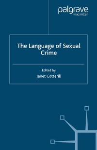 Cover The Language of Sexual Crime