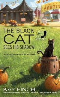 Cover Black Cat Sees His Shadow