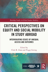 Cover Critical Perspectives on Equity and Social Mobility in Study Abroad