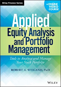 Cover Applied Equity Analysis and Portfolio Management