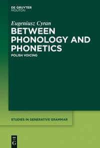 Cover Between Phonology and Phonetics