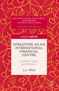 Cover Singapore as an International Financial Centre