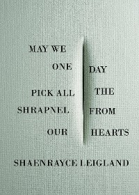 Cover May We One Day Pick All the Shrapnel From Our Hearts