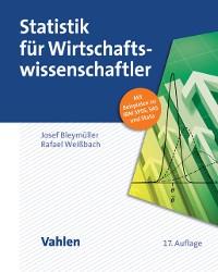 Cover Statistik für Wirtschaftswissenschaftler