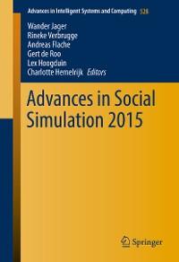 Cover Advances in Social Simulation 2015
