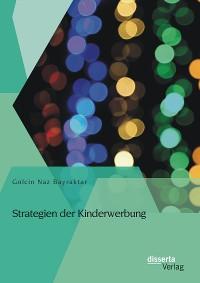Cover Strategien der Kinderwerbung