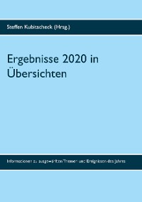 Cover Ergebnisse 2020 in Übersichten