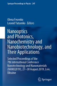 Cover Nanooptics and Photonics, Nanochemistry and Nanobiotechnology, and  Their Applications