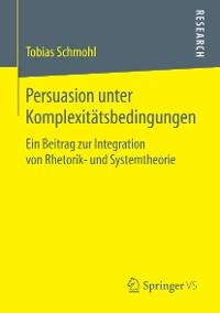 Cover Persuasion unter Komplexitätsbedingungen