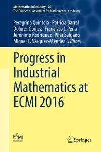 Cover Progress in Industrial Mathematics at ECMI 2016
