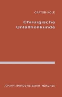 Cover Chirurgische Unfallheilkunde