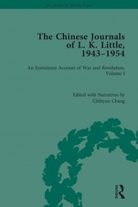 Cover Chinese Journals of L.K. Little, 1943-54