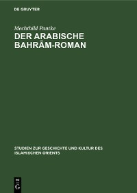 Cover Der arabische Bahrām-Roman